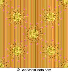 Seamless pattern Mandala 68 - Seamless pattern, the mandala...