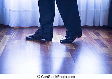 Salle bal, danse, latin, danseur,