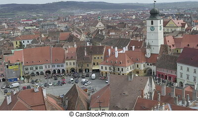 Hermanstadt Old Town View - View of Hermanstadt old town...