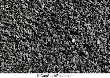black coal background and texture