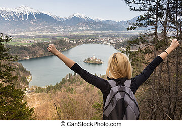 Beautiful nature around Bled Lake, Slovenia - Made it Young...