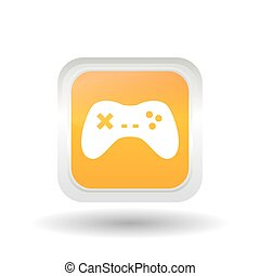 video game design, vector illustration - video game concept...