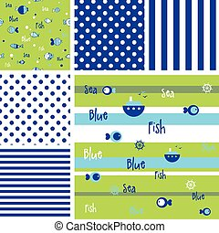 Set of patterns - swatches