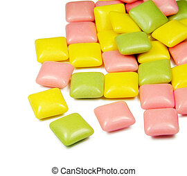 gums  - Picture of gums with white background.