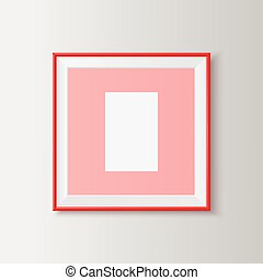 Blank picture frame - Useful template for presentations...