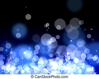 Bokeh lights background - A beautiful Bokeh background with...