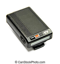 pager - Picture of isolated pager with white background