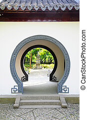 door - Picture of chinese traditional style door.