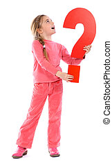question mark girl - See all letters in my Portfolio
