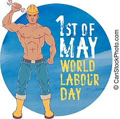International labor day. The first of may