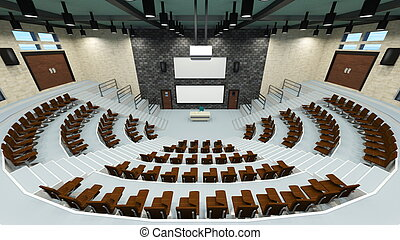 Convention hall - Image of a convention hall