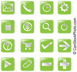 Web Icons, Vector File pictogram