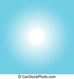 halftone vector illustration background