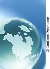 玻璃, 世界