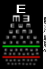 Eyesight concept - Really bad eyesight - Eyesight concept -...