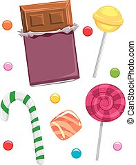 Different Candies and Chocolates