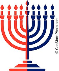 chanukah - Jewish icon,Dreidel,Shofar,torah,david star,torah