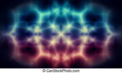 Abstract kaleidoscope background - Abstract kaleidoscope...