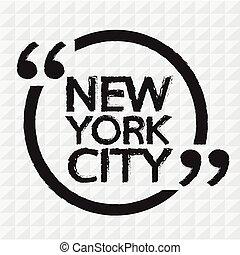 NEW YORK CITY Illustration Design