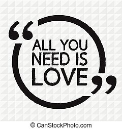 ALL YOU NEED IS LOVE Illustration Design