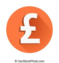 Pound symbol - This is an illustration of Pound symbol