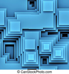 blue graphic - An illustration of a nice abstract blue...
