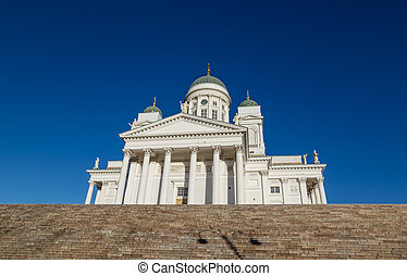 Helsinki, Cathedral, or, St, Nicholas', Church, -, the,...