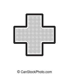 Add, medical,  plus, icon