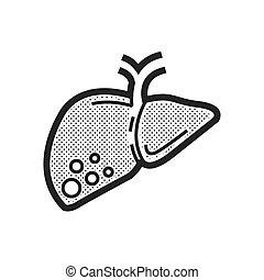 liver cancer icon