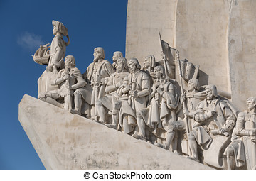 Monument to the Discoveries Padro dos Descobrimentos...