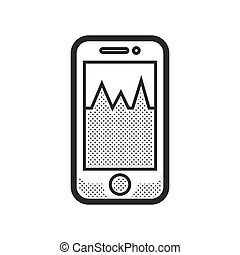 Medical Device Icon, Check pressure On Mobile