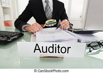 Businessman Analyzing Bills - Photo Of Businessman Analyzing...