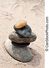 Smooth Stacked Rocks