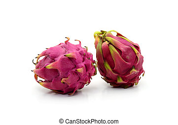 Red dragon fruit Hylocercus costaricensis