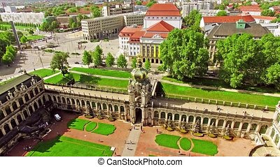 Zwinger Palace, Dresden - Zwinger Palace (Der Dresdner...