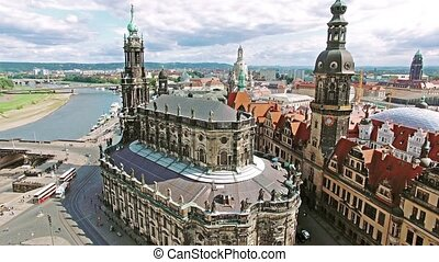 Historic center of Dresden Saxony, Germany