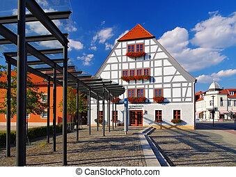 Grossraeschen Fachwerkhaus - Grossraeschen half-timber house...