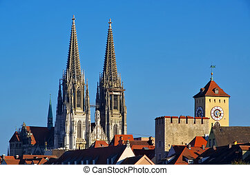 Regensburg cathedral  - Regensburg, the gothic cathedral