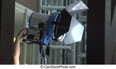 Hand tuning lighting fixture - Lighting equipment for...