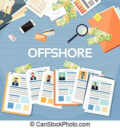 Offshore Papers Documents Company Business People Owners...