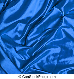 Smooth elegant blue silk background