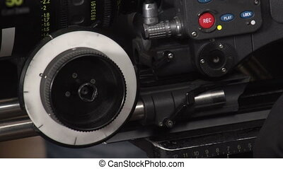 Operation of the camera with the settings - Operation of the...