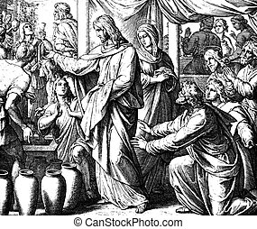 The Wedding at Cana - These engravings were written and...