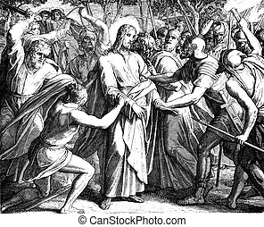 Jesus Betrayal - These engravings were written and published...