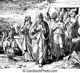 Leaving the Ark 1) Sacred-biblical history of the old and...