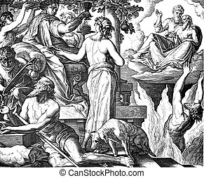 The Rich Man and Lazarus - These engravings were written and...