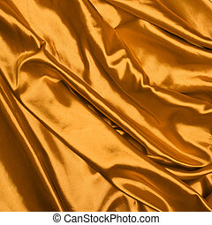 Smooth elegant gold silk background