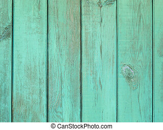 Teal Wooden Background