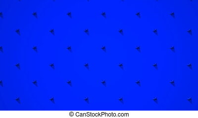 Blue Stars Abstract - Loop able 3DCG render Abstract...