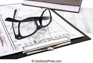 Folder with glasses